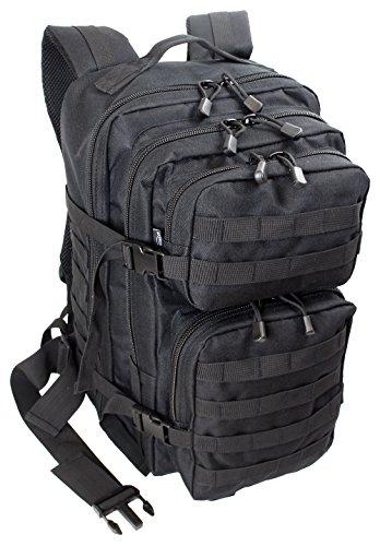 Extrem Großer Rucksack 50 Liter Backpack Outdoor Robuster Multifunktions Military Rucksack für Backpacker Farbe Schwarz