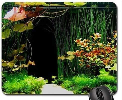 Fisch-themenorientiertes Gaming-Mauspad, Mini-Aquarium-Design-Mauspad, Mousepad
