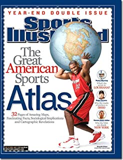 Shaquille O'Neal, Miami Heat, The Great American Sports Atlas (December 27, 2004 - January 3, 2005 Sports Illustrated Magazine)