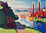 Berkin Arts Oscar Bluemner Giclée Leinwand Prints Gemälde