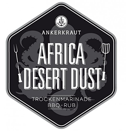 Africa Desert Dust, afrikanischer BBQ-Rub, 250gr