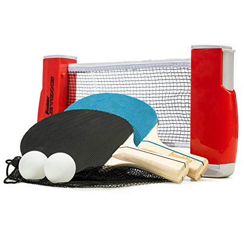 Franklin Sports Table Tennis To Go, Complete Portable Ping Pong Set