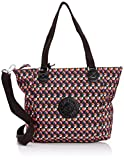 Kipling Shopper Combo, Bolso de Hombro para Mujer, Party Dot Pr TF