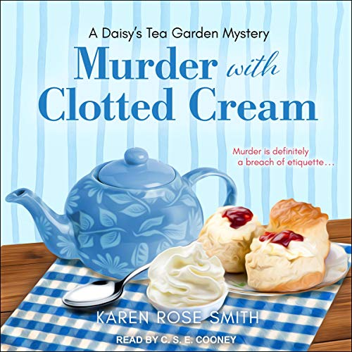 Murder with Clotted Cream Audiobook By Karen Rose Smith cover art