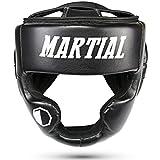 Martial Kopfschutz mit hoher Schlagdämpfung! Gesichtsschutz mit Perfekter Sicht und geringer Schweißentwicklung. Boxhelm für Kampfsport