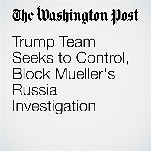 Trump Team Seeks to Control, Block Mueller's Russia Investigation copertina