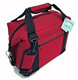 Polar Bear Coolers 12 Pack Original Nylon Soft Cooler Red