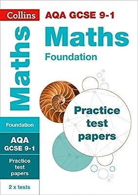 AQA GCSE 9-1 Maths Foundation Practice Test Papers (Collins GCSE 9-1 Revision) by Collins