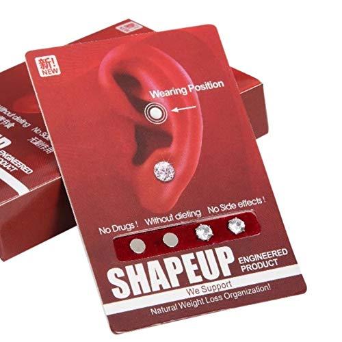 Balight Abnehmen Ohrringe verlieren Gewicht Schmuck gesunde anregende Akupunkturpunkte Stud Magnetfeldtherapie Produkte