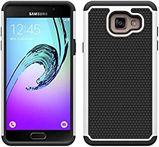 32nd Shockproof Defender Case Cover for Samsung Galaxy A5 (2016), Including Touch Stylus White SG.A5-16.ShkProof