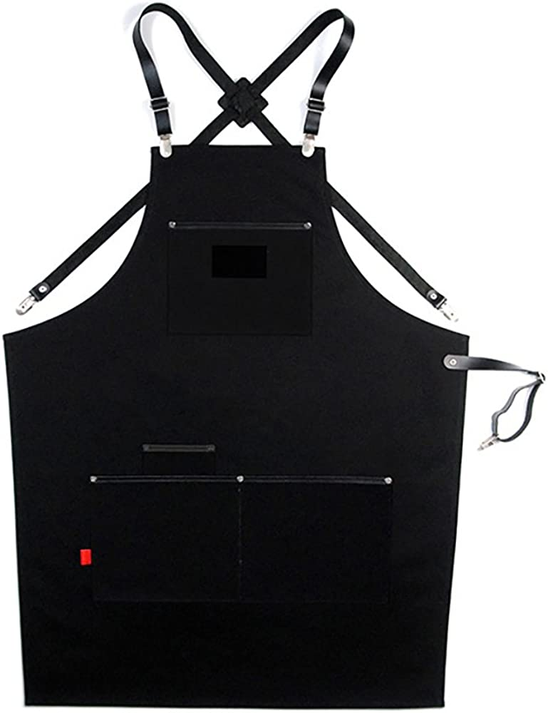 Canvas All items in the store Apron With Utility Leather Adjustable Pockets L Oakland Mall Woodwo to