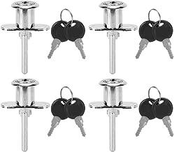 Fdit Zinklegering Antidiefstalbeveiliging Ladeslotenset voor Garderobekast Hardware-accessoires 4 stuks
