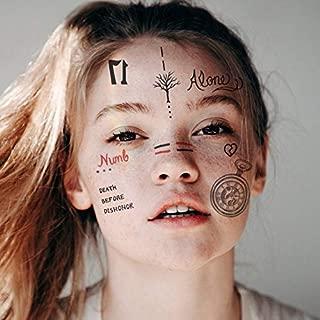 XXXTentacion Tattoos Set | Temporary Tattoos | Halloween Costume | Skin Safe