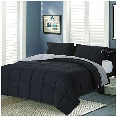 Homelike Moment Lightweight Comforter Set Queen Reversible All Season Down Alternative Bed Comforter product image