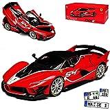 Ferrari FXX-K Coupe Rot mit Rot Nr 54 Luzich Signature Serie 18-16908 1/18 Bburago Modell Auto