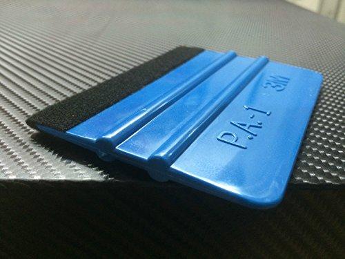 qili 3M Rakel mit Filzkante,Folienrakel/Filzrakel aus Kunststoff als Werkzeug für Folierung von: Autofolie, Möbelfolie, Fensterfolie, Tönungsfolie, Wantatto´s,Plotter- &Klebefolie u.v.m!(1)
