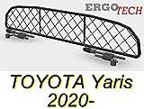 ERGOTECH Rejilla Separador protección para Toyota Yaris RDA65-HXXS, para Perros y Maletas. Segura, Confortable para tu...