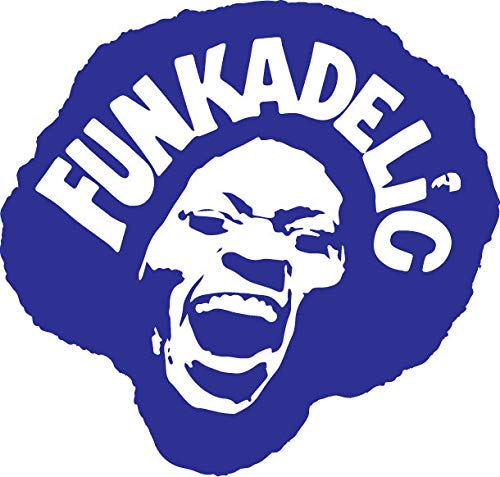 Funkedllic Vinyl-Aufkleber Madgot Brain Parlement P-Funk George Clinton