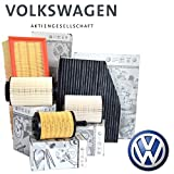 Kit tagliando 4 FILTRI originali VOLKSWAGEN VW GOLF 6 VI 1.6 TDI CAYC