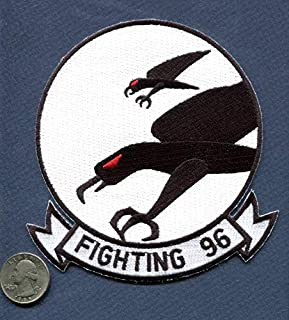 Embroidered Patch-Patches for Women Man- VF-96 Fighting Falcons