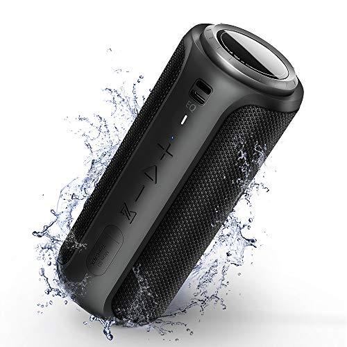 Cassa Bluetooth 30W Altoparlante Portatile Bluetooth 5.0 con Bassi Potenti, TWS 360° Suono Stereo IPX7 Impermeabile Speaker AUX & Micro SD e Chiamata Vivavoce per Interno ed Esterno Viaggio