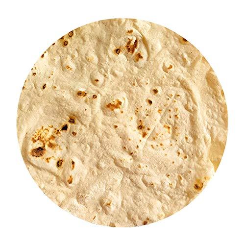 Yyang Kuscheldecke, Runde Burrito Decke, Mikrofaser Flanell Food Creation Tagesdecke, Super Weiche Warme mit Zweiseitige Fleecedecke Sofadecke, Reisedecke