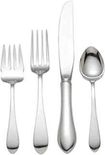 Reed & Barton Pointed Antique Sterling Silver 4 Piece Place Setting, Large