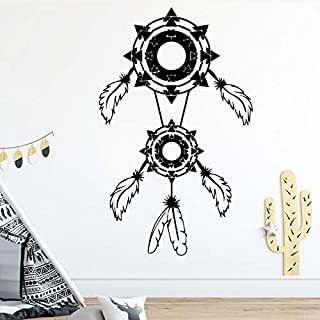 43 cm yuandp Drag/ón Tribal Pegatinas de Pared para Habitaciones de ni/ños decoraci/ón de la Pared de Vinilo removible Arte de la Pared calcoman/ías decoraci/ón del hogar Creativo Acces 82