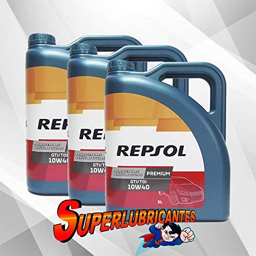 Mundocoche Repsol Elite Premium TDI-GTI 10W40 3x5L(15Litros)
