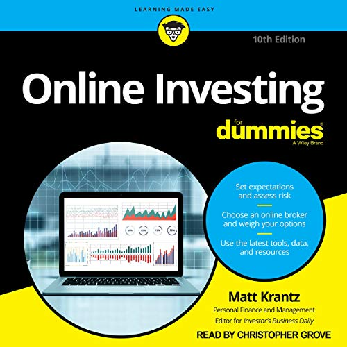 Couverture de Online Investing for Dummies, 10th Edition