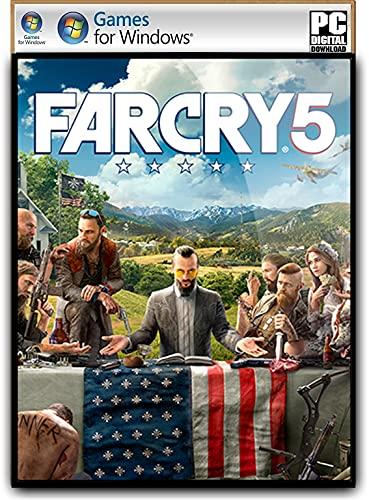 F-A-R-C-R-Y- 5 – Digital Download (NO DVD/CD) – Digital Download (NO DVD/CD) – [No Multiplayer/No Redeem* Code] -Full PC GAME