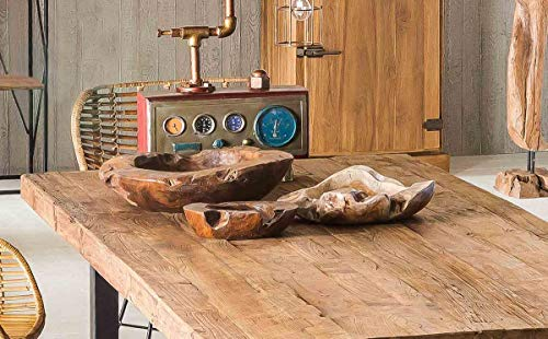 Tops & Tables teck naturel plateau de table Naturel 220 x 100 cm