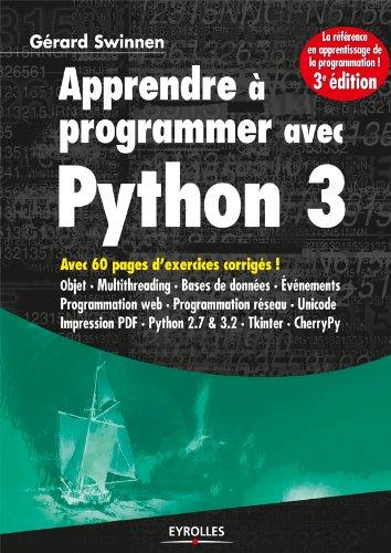 Apprendre à programmer avec Python 3 (Noire)