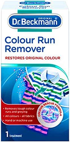 1 x Color Run Remover Ropa blanqueador Dr Beckmann Color Restorer - Citystores