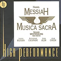 Handel: Messiah by Richard Westenburg (1999-08-10)