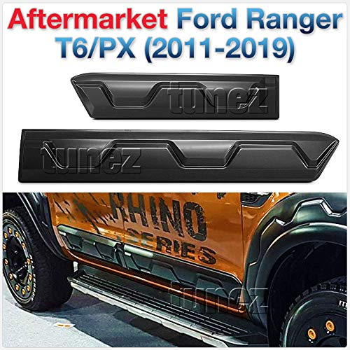 Tür Guard Verkleidungen Seite Panel Schutzfolie für Ranger T6 2012 2013 2014 2015 2016 2017 2018 2019 von TUNEZ®