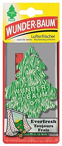 5 x Wunderbaum Lufterfrischer Everfresh 134218