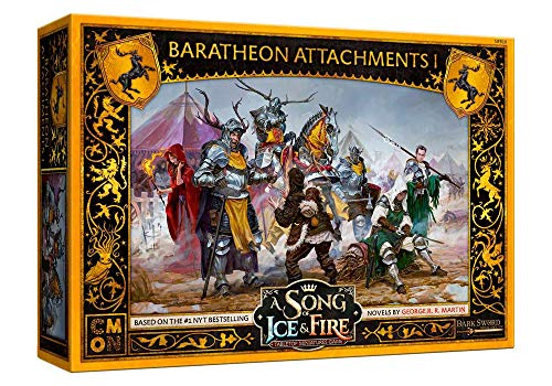 CMON A Song of Ice and Fire: Baratheon Attachments #1 (SIF816)