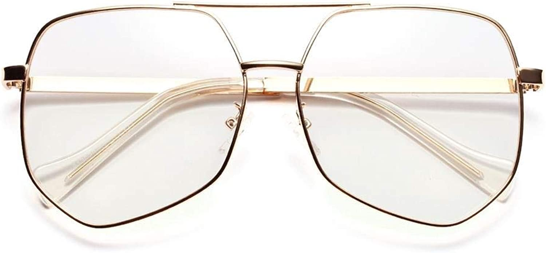 colord Diamond Optical Eyeglasses Women Fashion Sunglasses. Sunglasses (color   gold)
