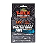 T-REX Waterproof Tape for Wet or Rough / Dirty Surfaces Including Underwater, Leaks, Hose Repair and More, Black, 1-Roll (285988)