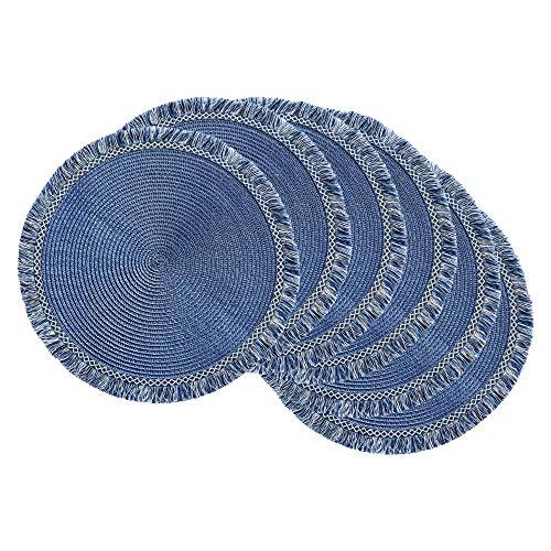 mantel azul de la marca DII