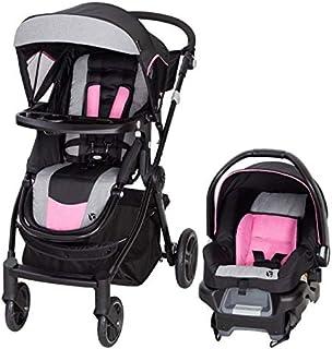 عربة اطفال سيتي كليكر برو سناب جير® بنظام مخصص للسفر من بيبي تريند - زهري غامق