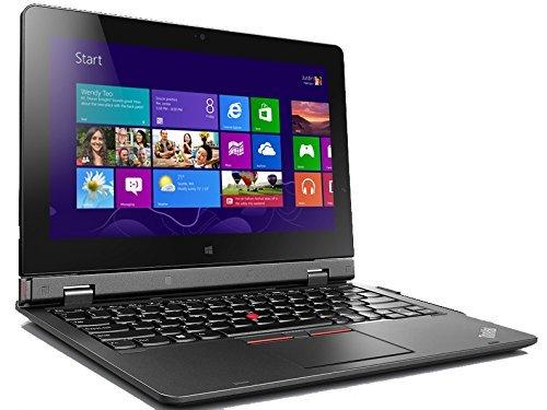 Lenovo ThinkPad Helix - notebooks (M-5Y71, Touchpad, Windows 10 Pro, Lithium Polymer (LiPo), 2+4, 64-bit)(Ricondizionato Certificato)