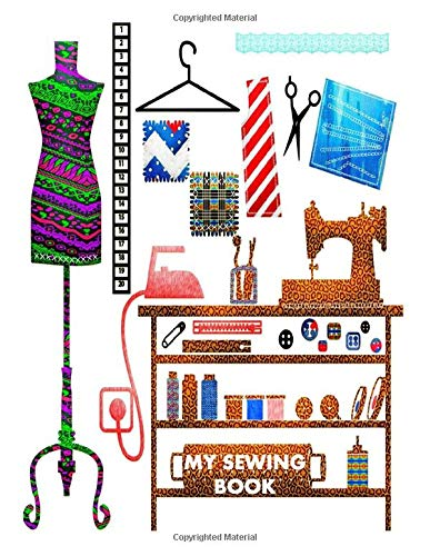 Find Discount MY SEWING BOOK: SEWING JOURNAL SEWING BOOKS FASHION COMPOSITION NOTEBOOK DESIGN BOOKS ...