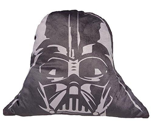 Daum - Pimp Up Your Life 16015–Disney Star Wars Forma Cojín Darth Vader, Peluche, 23cm