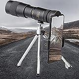 YTYC Arctic P9 Telescope-Super Teleobjetivo Telescopio monocular con Zoom, telescopio portátil 4K de Alta Potencia a Prueba de Agua para Ver escenas de Viajes de Camping (10-300x40)