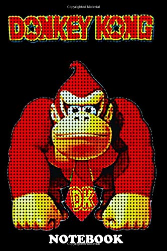 Notebook: Donkey Kong Pixel , Journal for Writing, College Ruled Size 6' x 9', 110 Pages