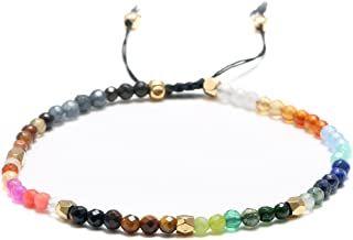 12 Constellation Meditation Beads Bracelet for Women 7 Chakra Bracelets Bohemian Lucky Stone
