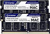 Timetec Hynix IC 32GB Kit(2x16GB) Compatible for Apple DDR4 2666MHz for Mid 2020 iMac (20,1/20,2) / Mid 2019 iMac (19,1) 27-Inch w/Retina 5K Display, Late 2018 Mac Mini (8,1) PC4-21300/PC4-21333 RAM