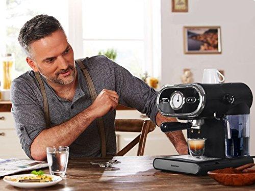Cafetera eléctrica con triturador y dosificador, 3 años de ...